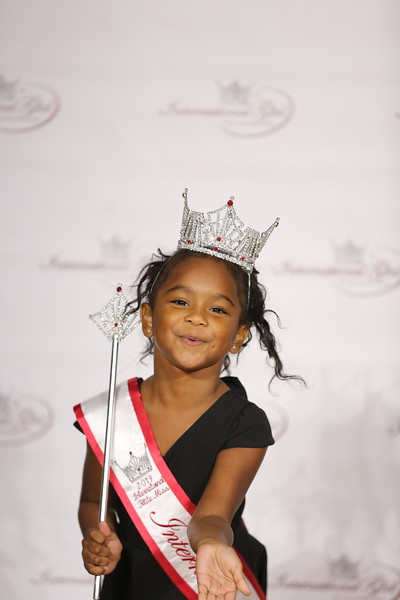 Little Girl with Tiara and Wand